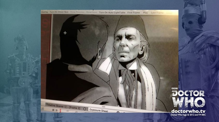 Animating the First Doctor in The Tenth Planet