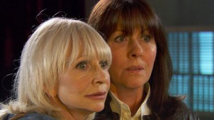 Jo Grant and Sarah Jane in The Sarah Jane Adventures: Death of the Doctor