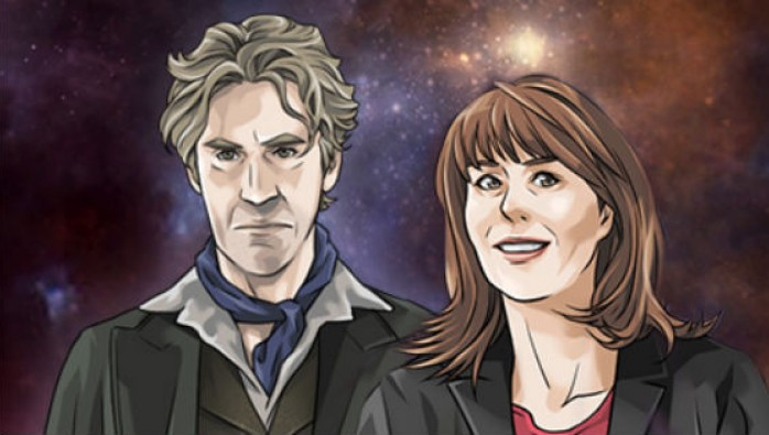 The Eighth Doctor and Sarah Jane Smith in Doctor Who: Legacy