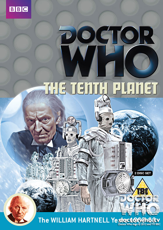Doctor Who: The Tenth Planet DVD cover