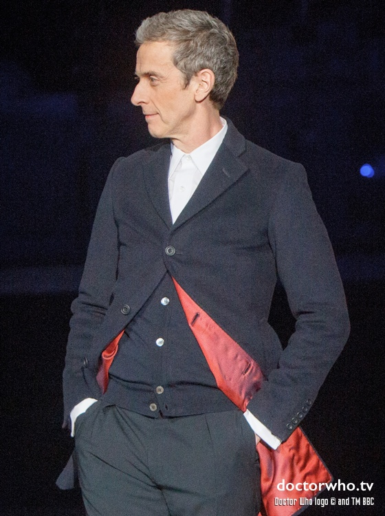 Peter Capaldi at BBC Worldwide Showcase 2014