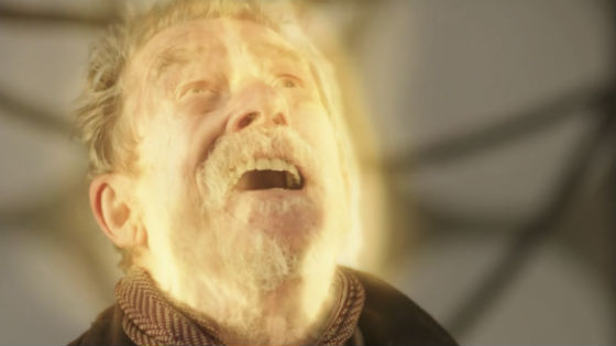 The War Doctor (John Hurt) regenerates